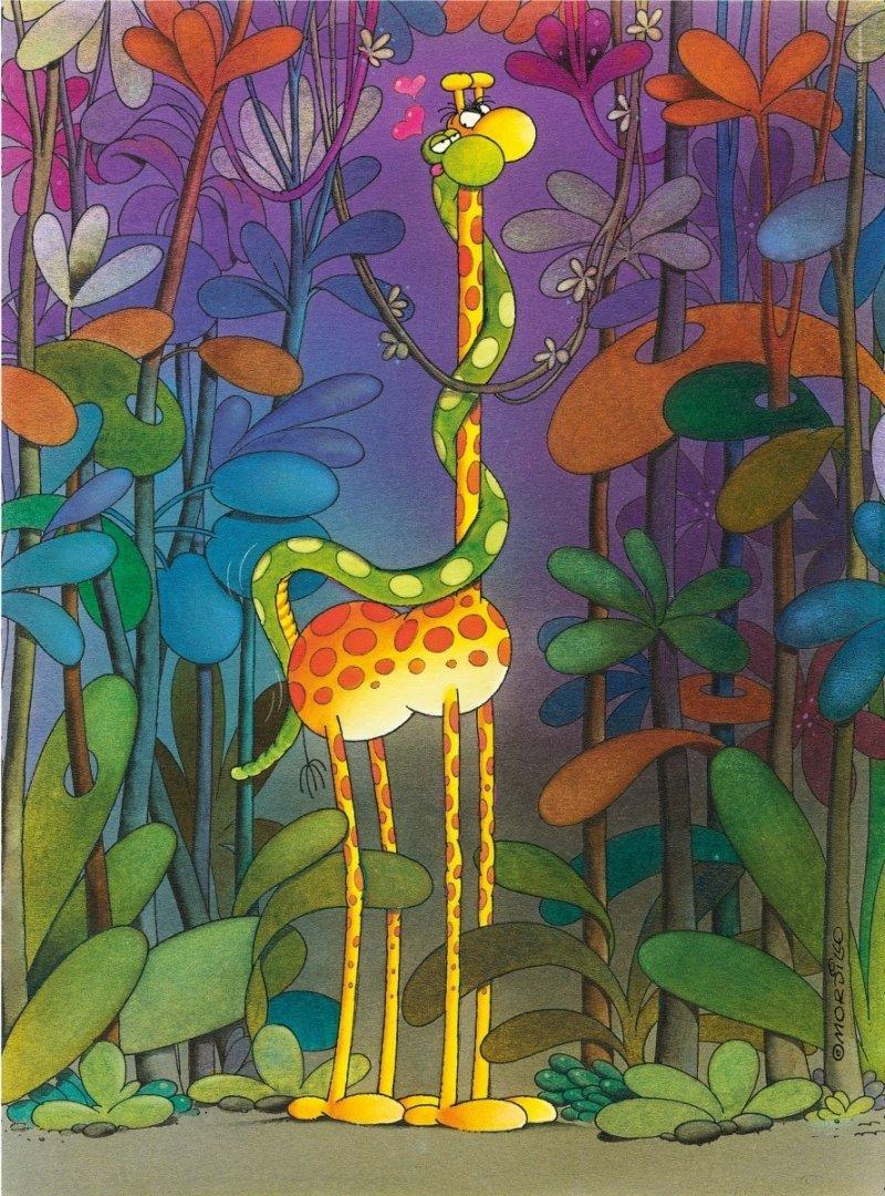 Puzzle 500 Clementoni 35079 Mordillo The Lover