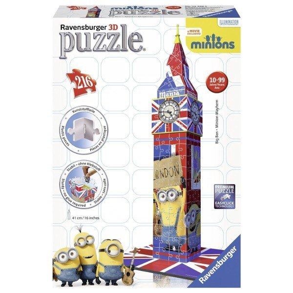 Puzzle 3D 216 Ravensburger 125890 Big Ben