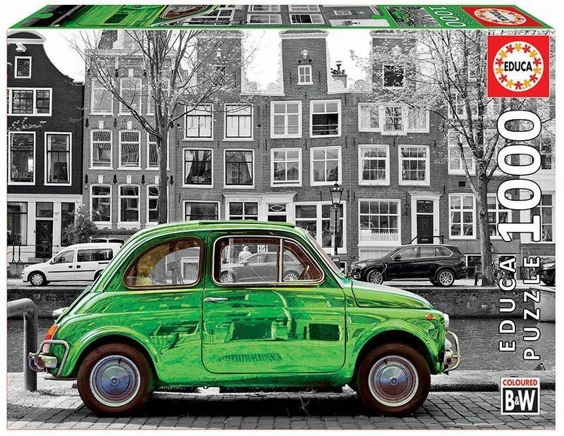 Puzzle 1000 Educa 18000 Auto w Amsterdamie