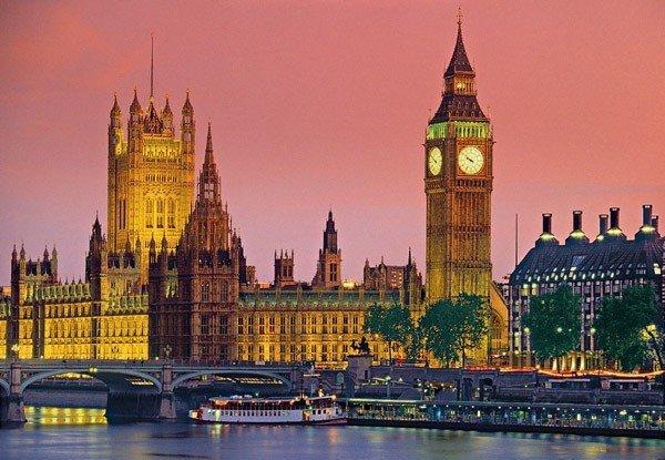 Puzzle 500 Clementoni 30378 Londyn
