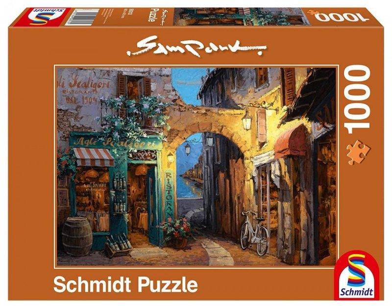Puzzle 1000 Schmidt 59313 Sam Park - Alejka obok Jeziora Como