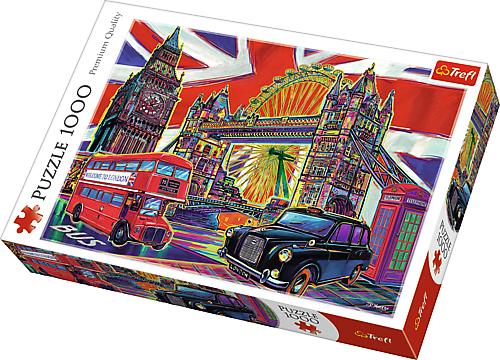 Puzzle 1000 Trefl 10525 Kolory Londynu