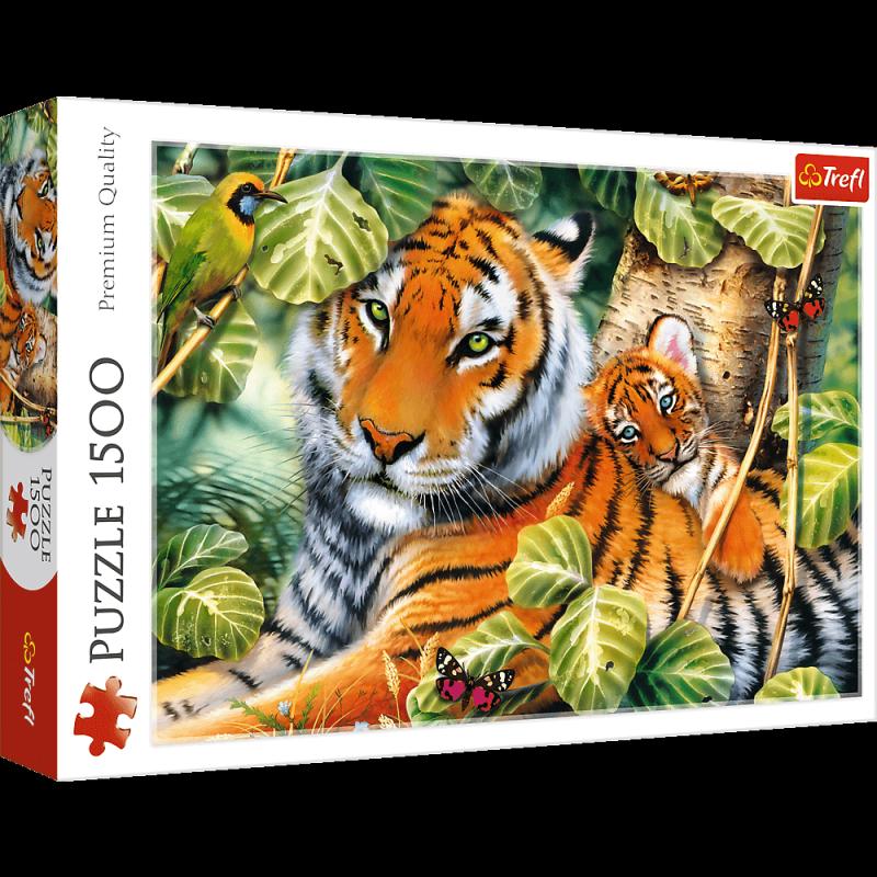 Puzzle 1500 Trefl 26159 Dwa Tygrysy