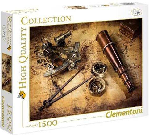 Puzzle 1500 Clementoni 31808 Marynarskie Artefakty