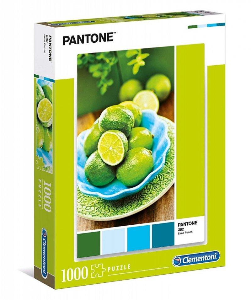 Puzzle 1000 Clementoni 39492 Pantone - Poncz Limonkowy