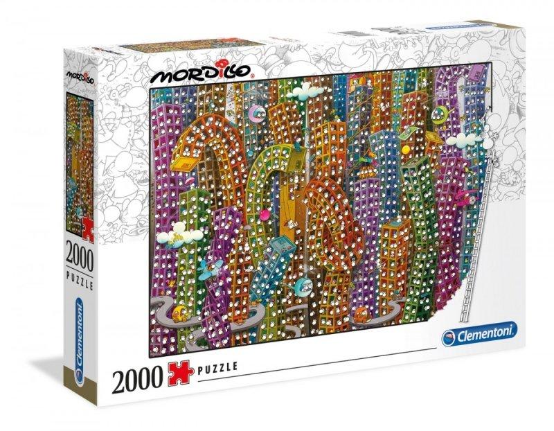 Puzzle 2000 Clementoni 32565 Mordillo The Jungle