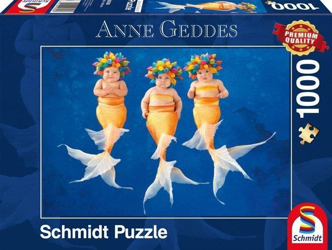 Puzzle 1000 Schmidt 59358 Anne Geddes - Syreni Taniec
