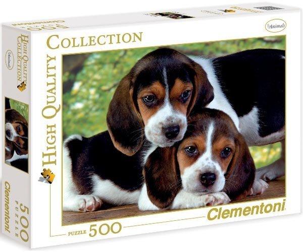 Puzzle 500 Clementoni 30289 Psy - Pieski