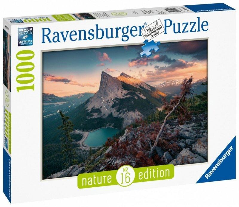 Puzzle 1000 Ravensburger 150113 Wieczór w Górach Skalistych