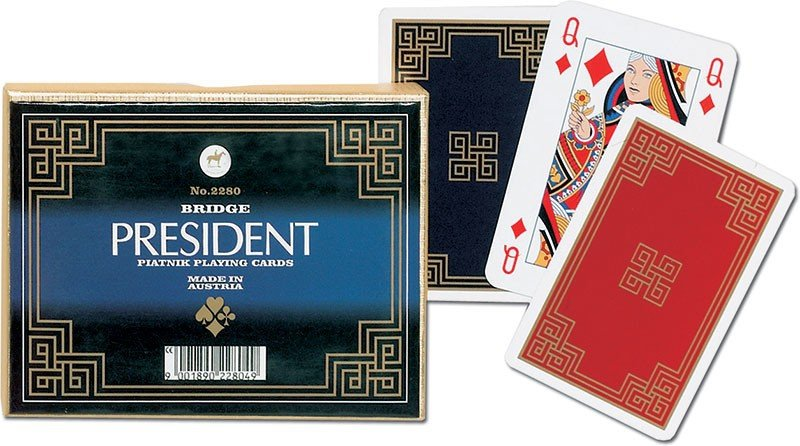 Karty do Gry Piatnik 2 Talie 2280 President