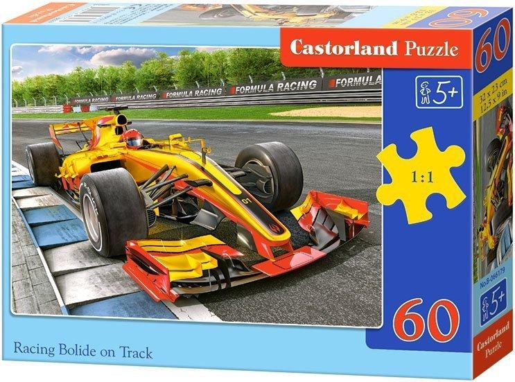 Puzzle 60 Castorland B-066179 Samochód Wyścigowy - Bolid