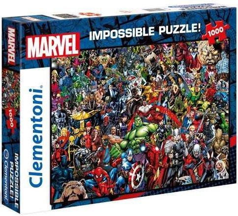 Puzzle 1000 Clementoni 39411 Impossible Marvel