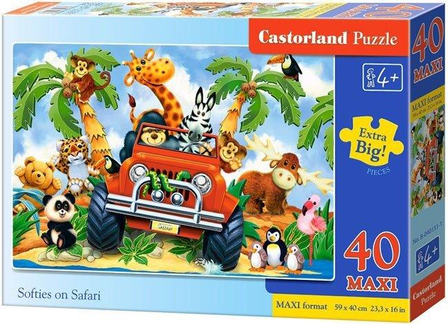 Puzzle 40 Maxi Castorland B-040131 Safari
