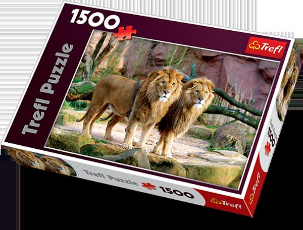 Puzzle 1500 Trefl 26088 Lwy