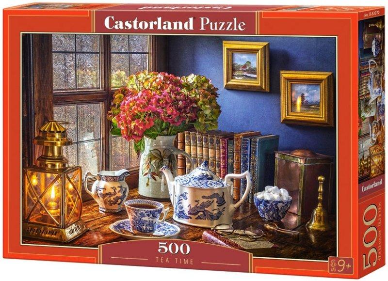 Puzzle 500 Castorland B-53070 Czas na Herbatkę