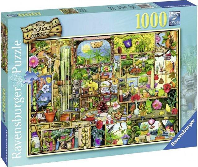 Puzzle 1000 Ravensburger 194827 Kredens Ogrodnika