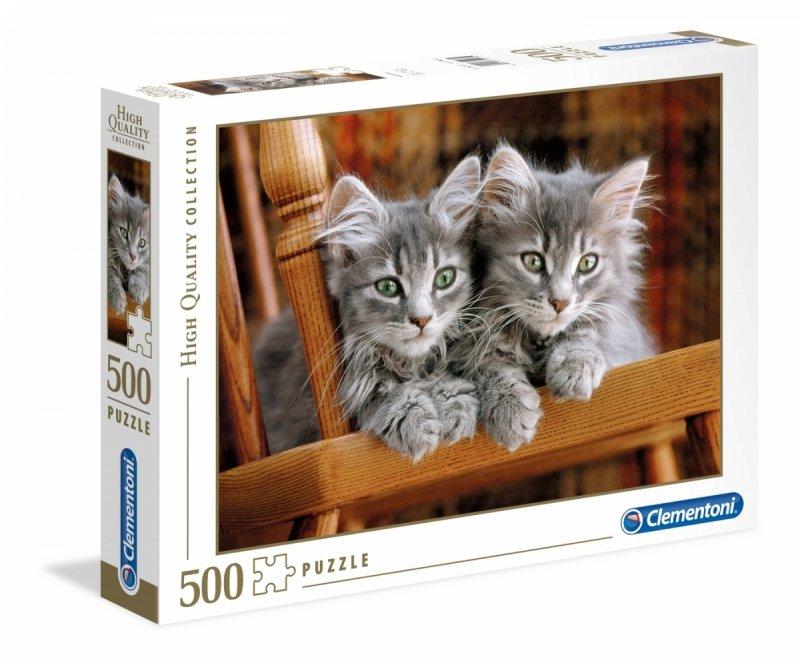 Puzzle 500 Clementoni 30545 Koty