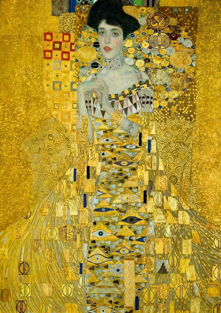 Puzzle 1000 Bluebird 60019 Gustav Klimt - Adele Bloch - 1907