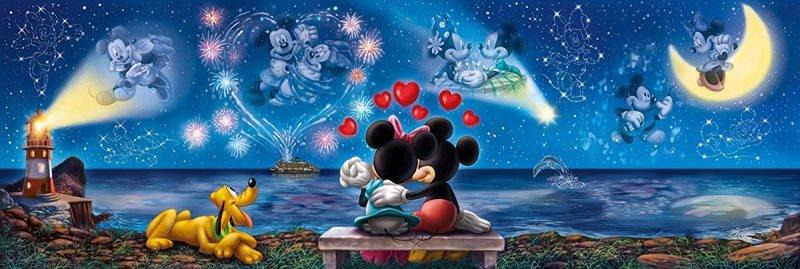 Puzzle 1000 Clementoni 39449 Panorama - Disney - Myszka Miki i Minnie