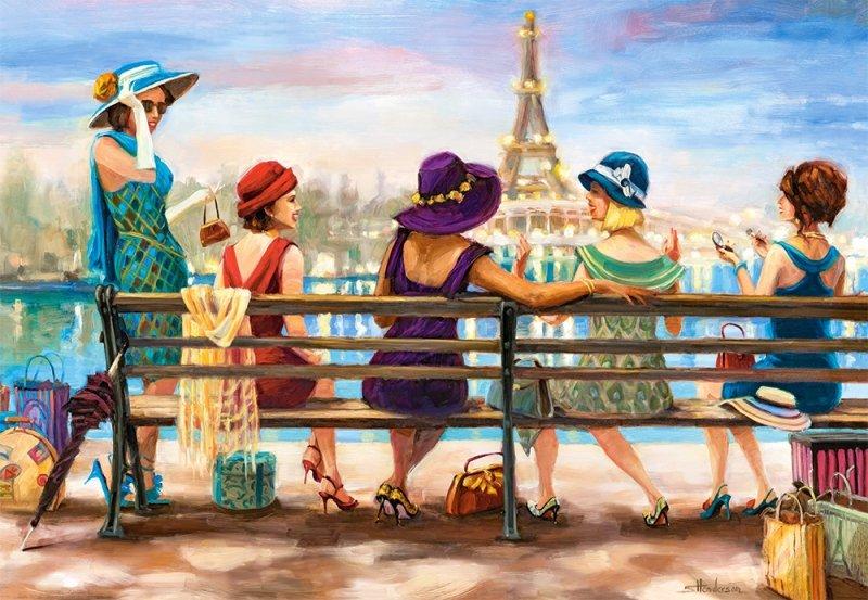 Puzzle 1000 Castorland 104468 Paryżanki