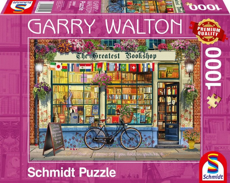 Puzzle 1000 Schmidt 59604  Garry Walton - Księgarnia
