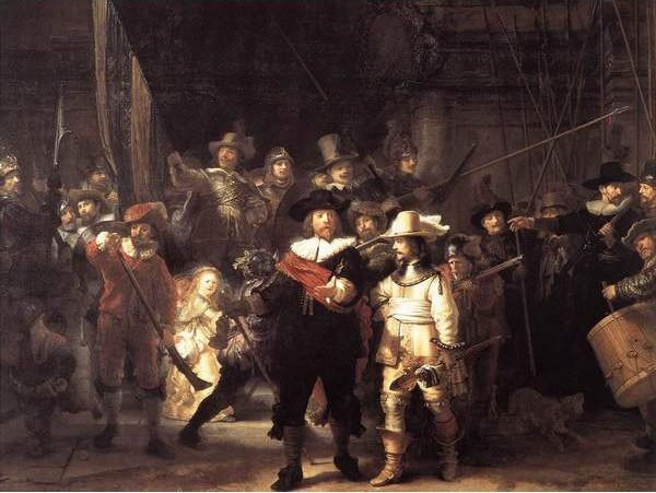 Puzzle 1500 Ravensburger 162055 Rembrand - Straż Nocna