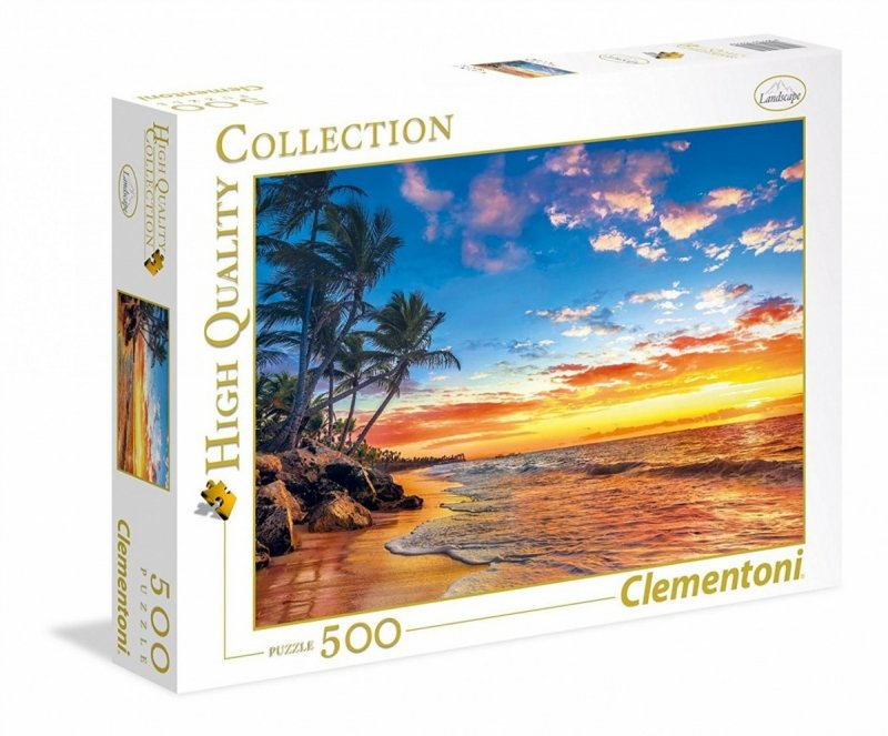 Puzzle 500 Clementoni 35058 Rajska Plaża
