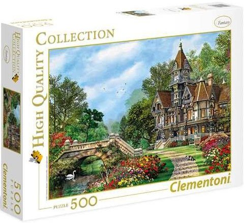 Puzzle 500 Clementoni 35048 Domek Old Waterway