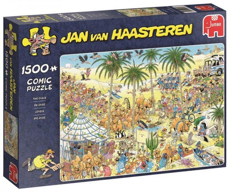 Puzzle 1500 Jumbo 19059 Jan van Haasteren - Oaza