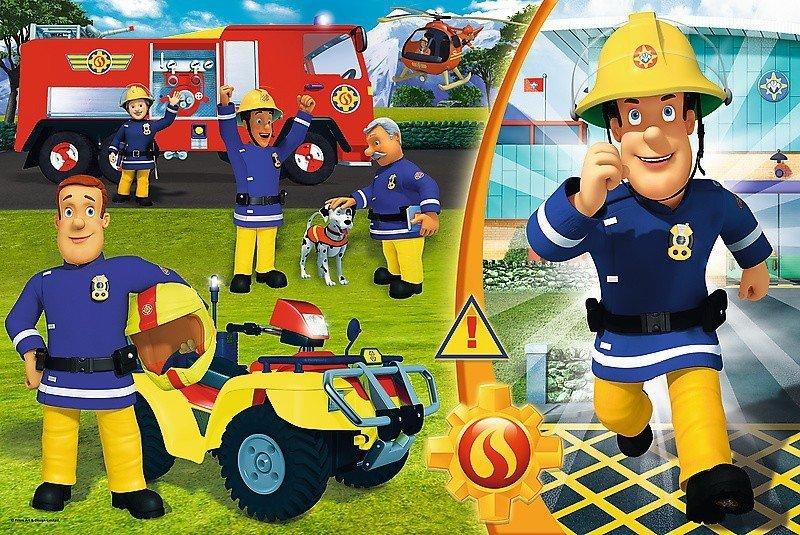 Puzzle 24 Maxi Trefl 14290 Dzielny Strażak Sam