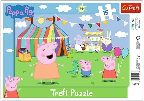 Puzzle Ramkowe 15 Trefl 31276 Pappa w Wesołym Miasteczku