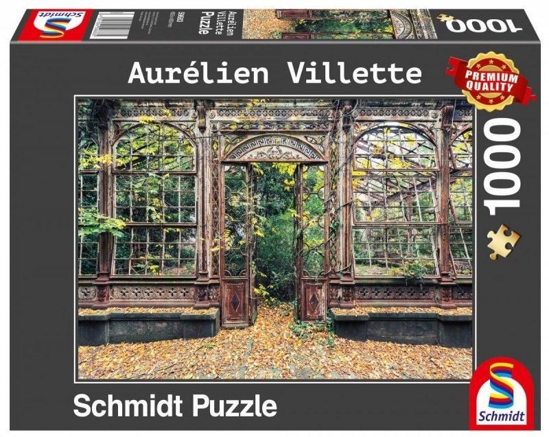 Puzzle 1000 Schmidt 59683 Aurelien Villette - Porośnięte Okna Łukowe