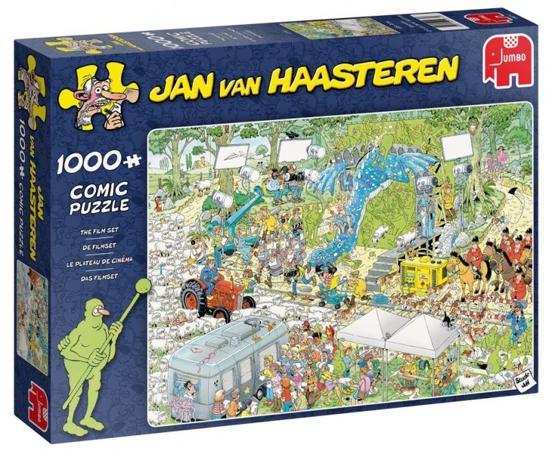 Puzzle 1000 Jumbo 19074 Jan van Haasteren - Plan Filmowy