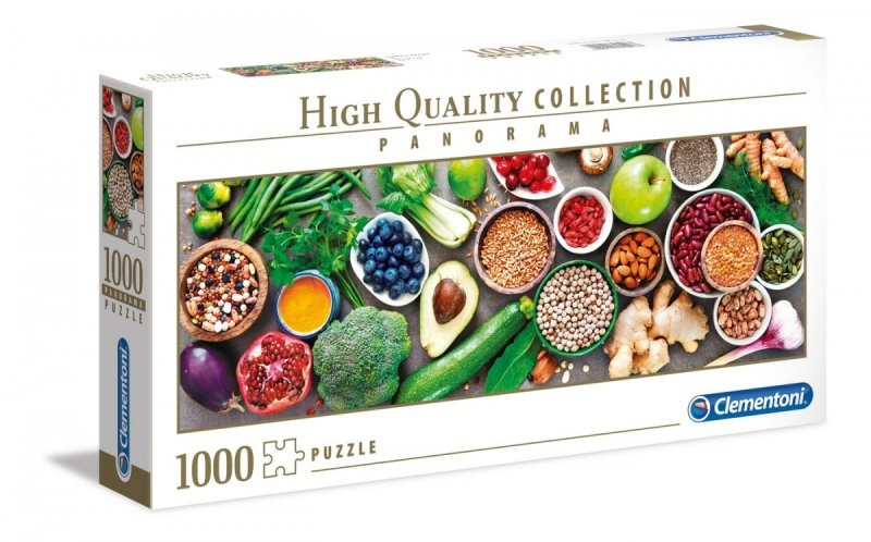 Puzzle 1000 Clementoni 39518 Panorama - Healthy Veggle