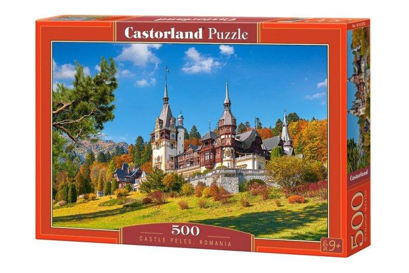 Puzzle 500 Castorland B-53292 Zamek Peles - Rumunia