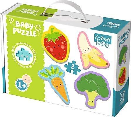 Puzzle Baby Classic Trefl T-36076 Owoce - Warzywa