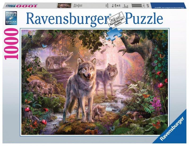 Puzzle 1000 Ravensburger 151851 Wilki