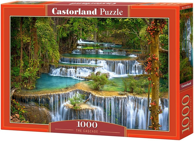 Puzzle 1000 Castorland C-103782 Kaskada