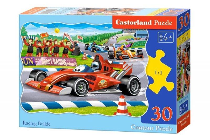 Puzzle 30 Castorland B-03761 Wyścigi Bolidów