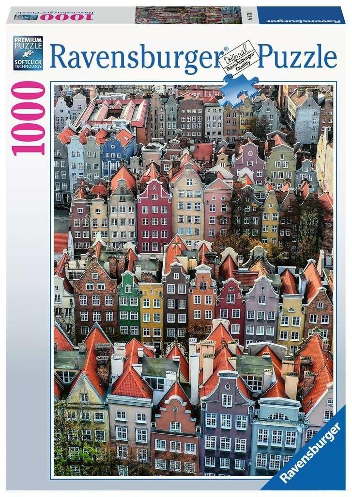 Puzzle 1000 Ravensburger 167265 Gdańsk - Polska