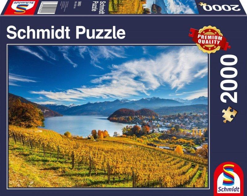 Puzzle 2000 Schmidt 58953 Winnice