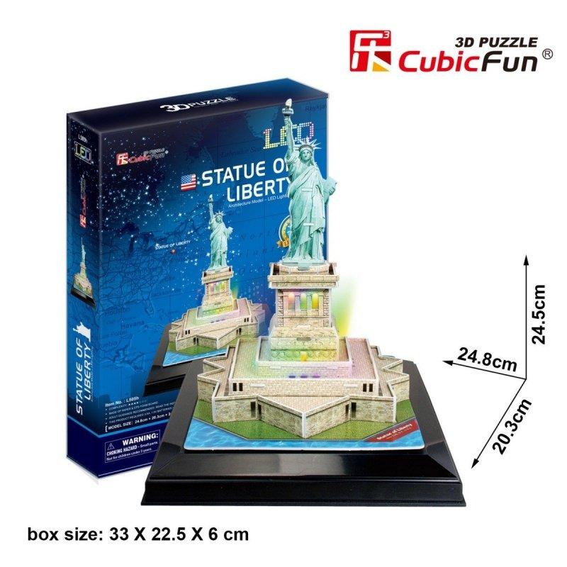 Puzzle 3D CubicFun 37 Statua Wolności - L505h