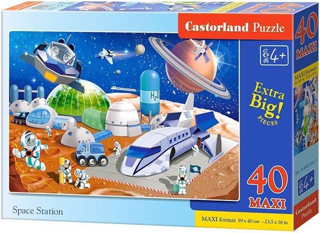 Puzzle 40 Maxi Castorland B-040230 Kosmos