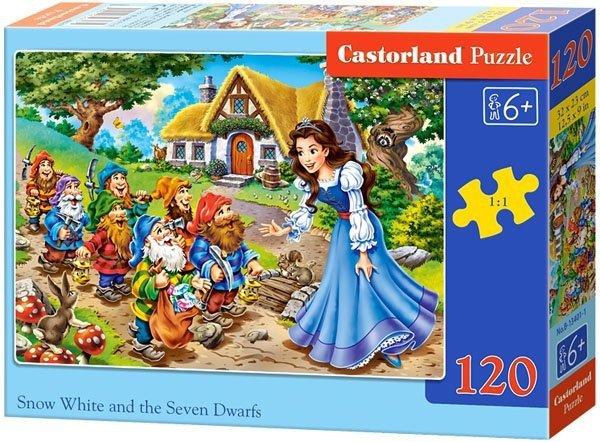 Puzzle 120 Castorland B-13401 Królewna Śnieżka