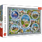 Puzzle 1000 Trefl 10583 Zamki Świata