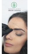 Zalecenia po zabiegu stylizacji brwi henną pudrową Brow Henna - 50szt