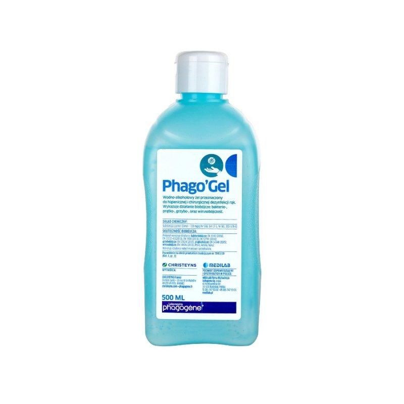 Phago' Gel żel do dezynfekcji rąk 500ml