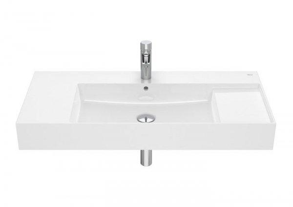 Inspira Umywalka ścienna       Wymiary:      Szerokość: 1000 mm.      Głębokość: 490 mm.      Wysokość: 120 mm.