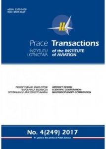 Prace Instytutu Lotnictwa 249 (4/2017)