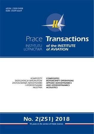 "Prenumerata roczna kwartalnika ""Transactions of the Institute of Aviation"""